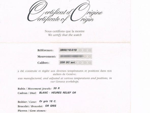 ref.3800/1G-010 ホワイトダイヤル