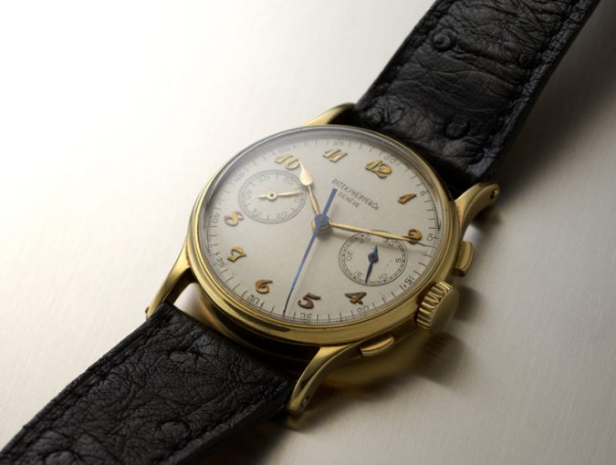 ref.130 chronograph with Breguet numerals