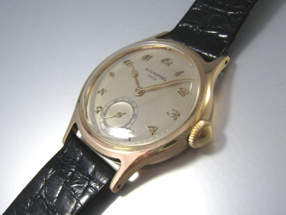 ref.565 yellow gold Breguet numerals