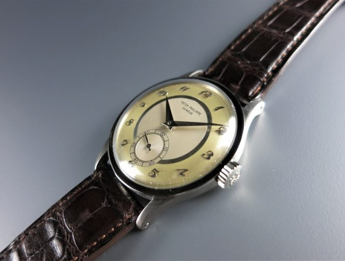 ref.570G three tone dial and Breguet numerals