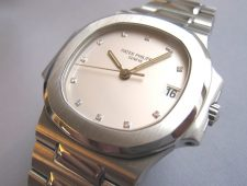 ref.3800/001 white diamond set dial