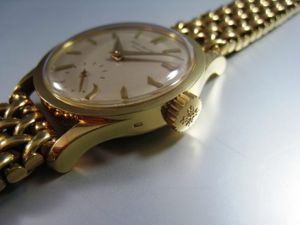 ref.2545 Yellow gold with GF bracelet