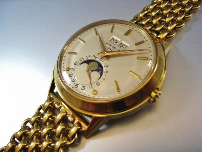 ref.3448 Yellow gold with YG bracelet