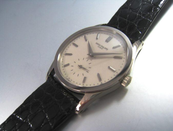ref.3796 White gold Ivory dial