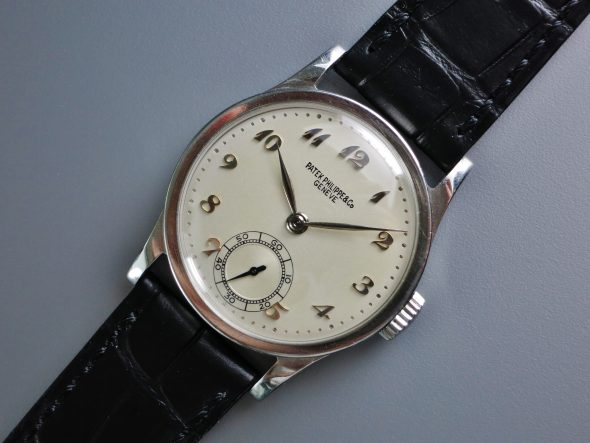 ref.96 Steel with Breguet numerals