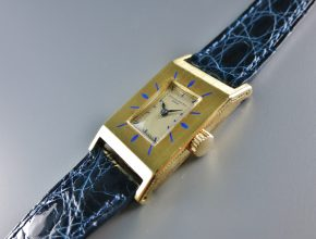 Rectangle Yellow gold