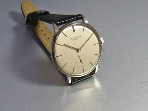 "ref.3410 White gold ""Anti-magnetic"""