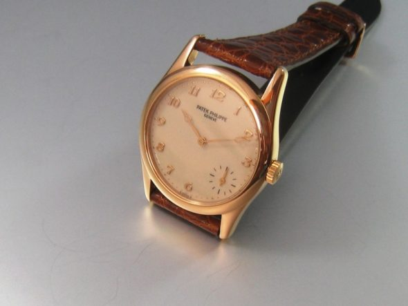 ref.5000 Rose gold Hausmann dial