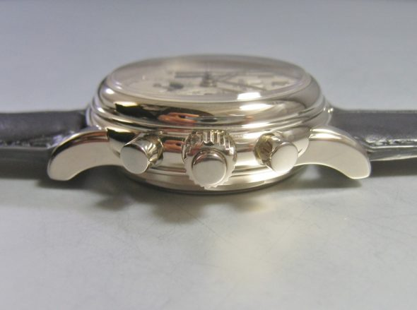 ref.5004 White gold with Silver dial
