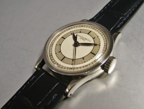 ref.96 Stainless steel with two tone sectr dial