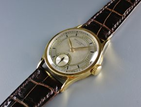 ref.96 Yellow with three tone dial