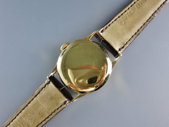 ref.96 Yellow gold with three tone dial