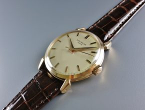 ref.1578 rose gold with sweep seconds