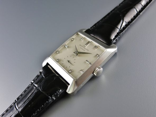 ref.2488 Platinum with diamond indexes