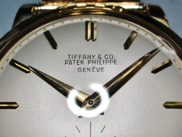 "ref.2552 Yellow ""TIFFANY & CO"""