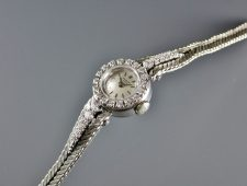 ref.3267/6 white with diamond bezel