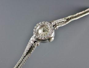 ref.3267/6 white with diamond bezel