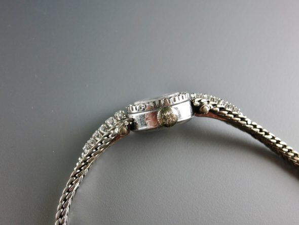 ref.3267/6 White gold with diamond bezel