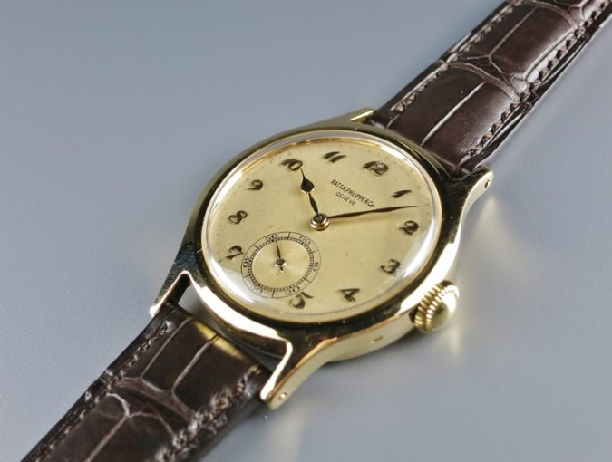 ref.565 yellow with Breguet numerals