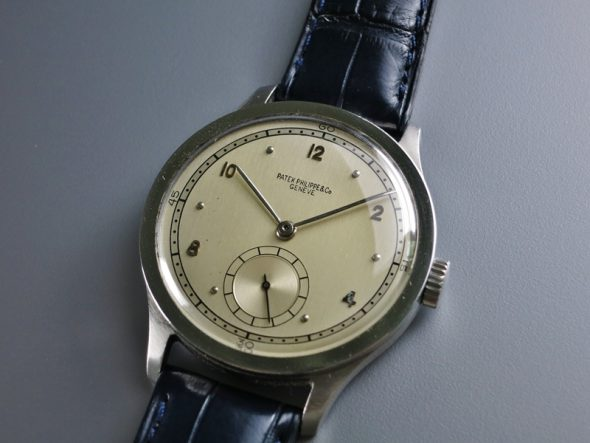 ref.570 Steel with two tone dial