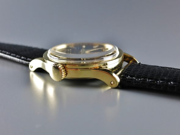 ref.96 yellow with black mirror dial
