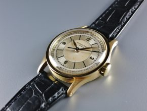 ref.96yg with two tone sector dial and indirect sweep seconds