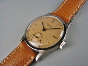 ref.96 steel with pink matt dial