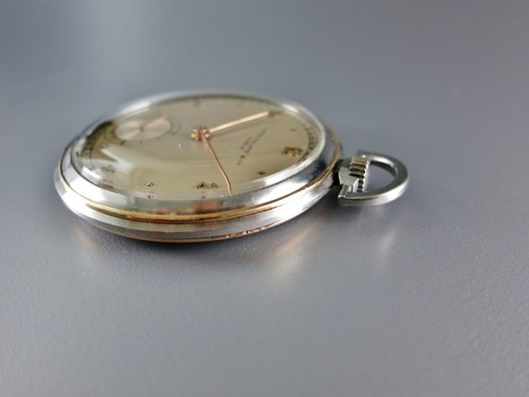 ref.617 Steel and Rose with two tone dial ¥1,100,000.-