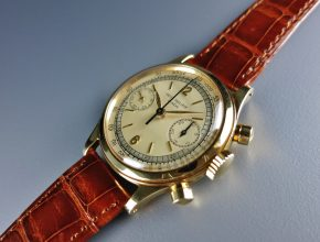 ref.1463 yellow with two tone dial