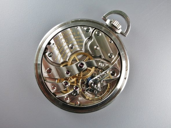 ref.617 Steel & Rose with Breguet numerals