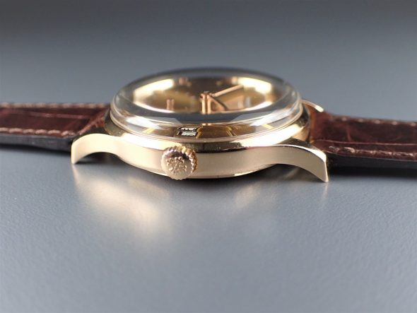 ref.3514 rose with champagne gold dial
