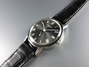 "ref.3466 Steel with 'ARDOISE' dial ""ASK"""