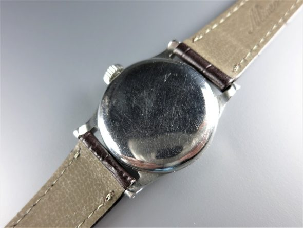 ref.437 steel with two tone dial