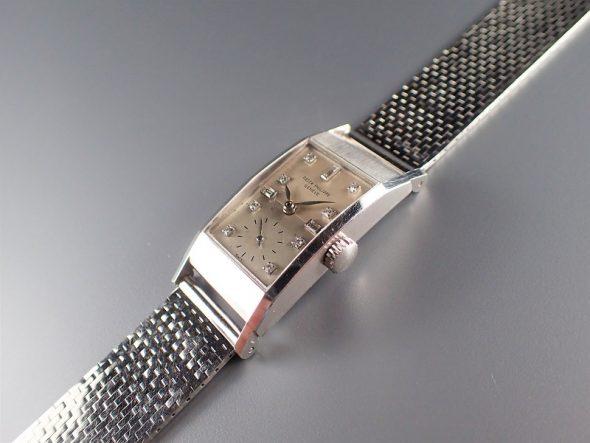 ref.425 プラチナ、ダイヤモンド&プラチナブレスレット