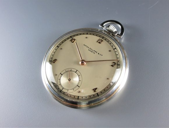 ref.617 Steel and Rose with two tone dial ¥1,120,000.-