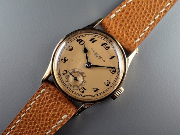 ref.96 Yellow with enamle breguet numerals