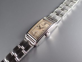 """ref.417 Steel Two tone dial """"ASK"""""""