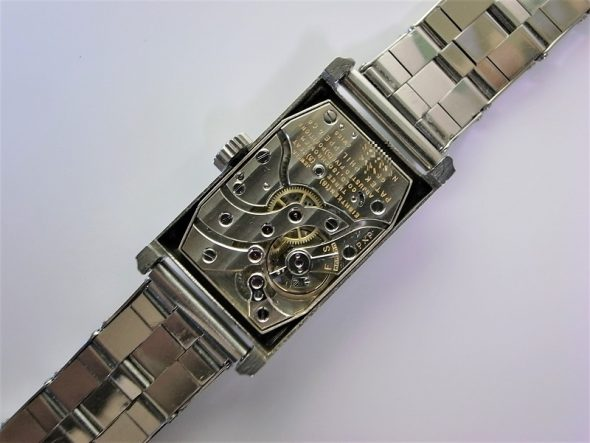 ref.417 Steel Two tone dial