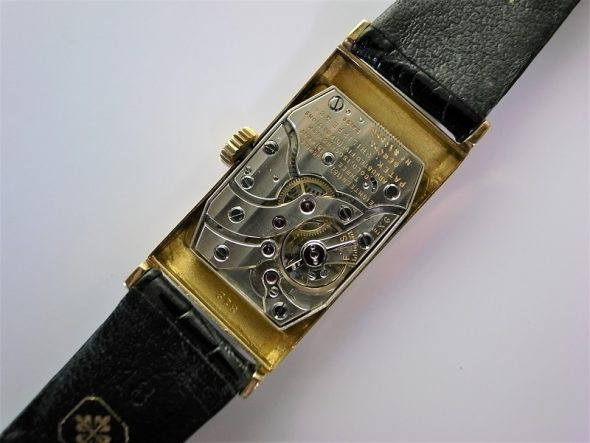 ref.425 yellow black dial & diamond indexes