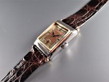 ref.447 Steel & Rose with Two tone dial