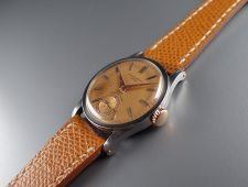 ref.96 Steel & Rose retailed by EBERHARD, Milan