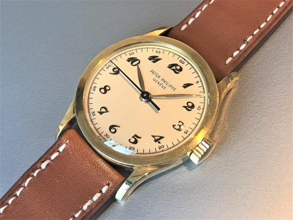 ref.2457 yellow with Breguet numerals