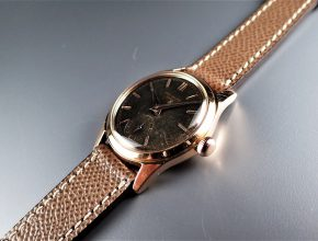 """ref.2483 Rose with Black dial retailed by FRECCERO """"on hold"""""""