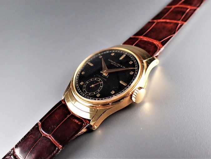ref.539 イエローブラックダイヤル retailed by FRECCERO