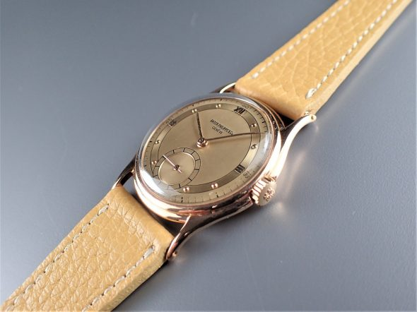 ref.1527 Rose with Two tone dial