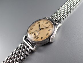 """ref.96 Steel with arabic numerals retailed by CASA WELSCH, LIMA """"ASK"""""""