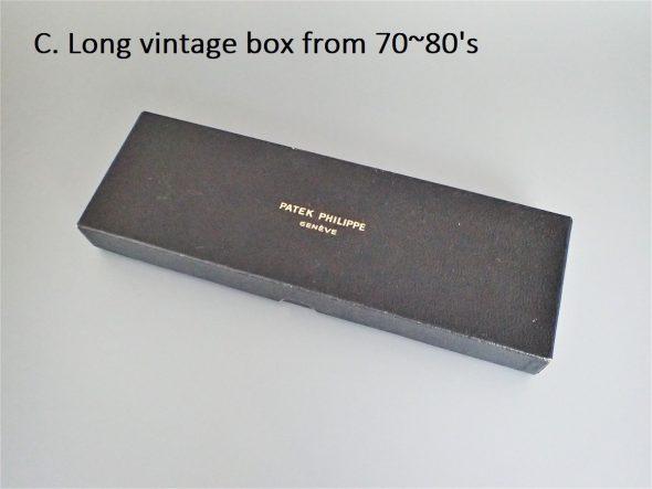 純正ビンテージボックス 5種