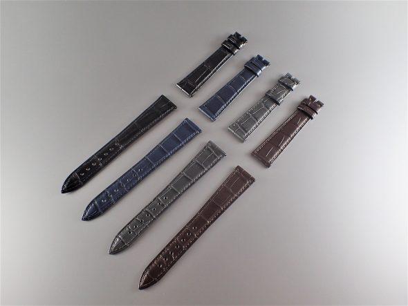 ジャン-クロード・ペラン クロコダイルベルト (16-20mm) ¥44,000.-