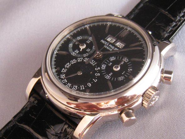 ref.3970G Black stick dial