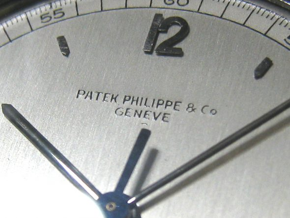 ref.570 Steel indirect sweep centre seconds